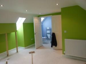 loft conversion with en suite new build 7