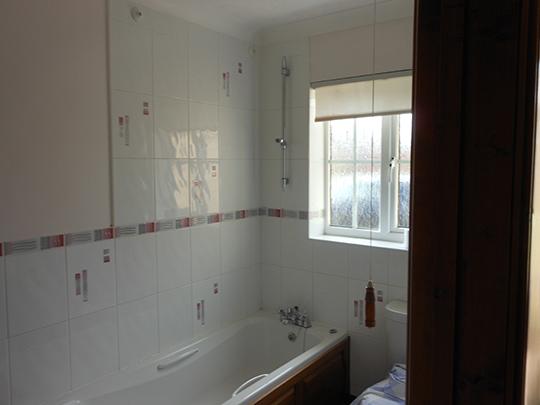 Bathroom window replacement
